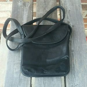 Wilsons Leather Black Leather Xbody